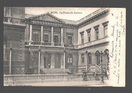 Mons - Le Palais De Justice - Animée, Enfants - 1903 - Ed. J. Nahrath - Dos Simple - Mons