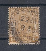 INDIEN - 6 Annas Gestempelt - Indien (...-1947)