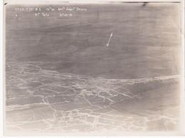 """Photographie Originale Aérienne 18 X 24 Real Photography Octobre 1916 """"Mont Tétu"""" Document Militaire Aviation Militaria - Aviación"""