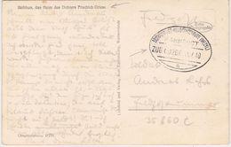 "GERMANY 1940 PICT.PC PARCHIM (Markower Mühle, Friedrich Giese House)FIELDP.RAILW.PM ""Ludwigslust-Neubrandenburg"" - Otros"