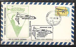Argentine Poste Aérienne 1969  Antartique  Et Terre De Feu - Timbres