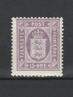 1919 15 ORE VIOLET MNH** - Officials