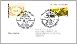 OLIMPIADA DE INVIERNO NAGANO 1998 - WINTER OLYMPICS. Wien 1998 - Invierno 1998: Nagano