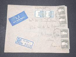 PALESTINE - Enveloppe En Recommandé De Tel Aviv Pour La France En 1946 - L 14335 - Palestine