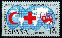 ESPAÑA 1969 - 50 ANIVERSARIO DE LA CRUZ ROJA - EDIFIL Nº 1925 - YVERT 1582 - 1931-Aujourd'hui: II. République - ....Juan Carlos I