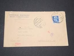 ITALIE - Enveloppe De Milano Pour L 'Allemagne En 1943 Avec Contrôle Postal - L 14337 - Marcofilía
