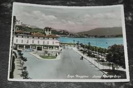 1254   Lago Maggiore Arona   Lungo Lago   1954 - Italia