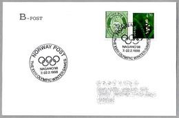 NORWAY POST In THE XVIII OLYMPIC WINTER GAMES NAGANO'98. - Invierno 1998: Nagano