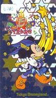 Télécarte Japon * 110-201551 * DISNEY * DISNEYLAND (6210) 15th ANNIVERSARY * Japan Phonecard Telefonkarte - Disney