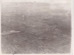 Photographie Originale Aérienne 18 X 24 Real Photography 7è CA. 1916 Document Militaire Aviation Militaria - Aviación
