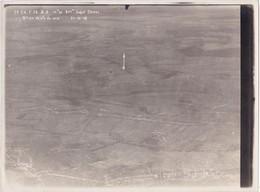 Photographie Originale Aérienne 18 X 24 Real Photography 7è CA. 1916 (autre) Document Militaire Aviation Militaria - Aviación
