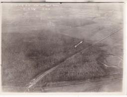 Photographie Originale Aérienne 18 X 24 Real Photography Bas De Ville 1916 Document Militaire Aviation Militaria - Aviation