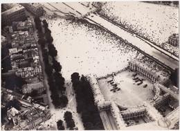 Photographie Originale Aérienne 16 X 22 Real Photography  PARIS ? Document Militaire Aviation Militaria - Aviación
