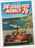 X 356 GRAND PRIX MONACO 1976 - Grand Prix / F1