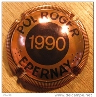 CAPSULE CHAMPAGNE POL ROGER  EPERNAY 1990 - Pol Roger