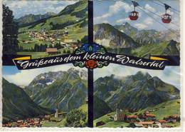 GRÜSSE AUS DEM KLEINEN WALSERTAL MEHRFACHANSICHT RIEZLERN KANZELWANDBAHN MITTELBERG HIRSCHEGG - Österreich
