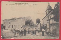 CPA-54 - XIROCOURT - Rue De L'Eglise- Epicerie-Mercerie THIÉRY *Ann.1910 * 2 SCANS. - Andere Gemeenten