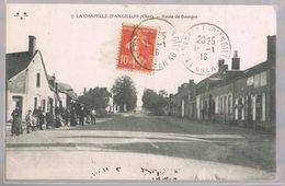 LA CHAPELLE - D'ANGILLON . Route De Bourges . - France