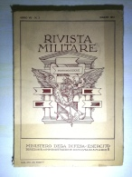 Rivista Militare, Pensiero E Azione - Ministero Della Difesa - Esercito (anno  1951) - Altri