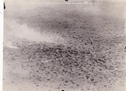 Photographie Originale Aérienne 12 X 16 Real Photography Attaque Du 10/10/1916 Document Militaire Aviation Militaria - Aviación
