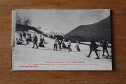 Cpa   Pyrénées Eaux Bonnes Concours   Les Skieurs Amateurs En 1909 - Eaux Bonnes