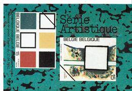 Fiche Publicitaire  Timbre   2452 à 2453  - 2465 à 2467 - 2468 à 2472 - 2483 - Belgique