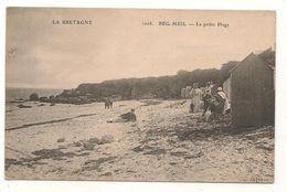 Beg Meil - La  Petite Plage  -  CPA° - Beg Meil