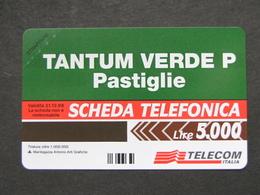 VARIETA' ITALIA 2642 C&C - TANTUM VERDE LIRE 5.000 MANCA OCR - NUOVA PEFETTA MAGNETIZZAZIONE ORIGINALE SIP - Fouten & Varianten