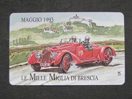 VARIETA' ITALIA 3268 PRP C&C - MILLE MIGLIA MAGGIO 93 MANCA OCR - NUOVA PEFETTA MAGNETIZZAZIONE ORIGINALE SIP - Italië