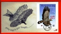 RSA, 1998, Mint F.D.C., MI 6-86,   World Postal Day - Zuid-Afrika (1961-...)