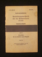 Manuel Allemand, Flakartillerie 1937, Tampon Flak-Abteilung 932, Flak-Brigade IV, 1942, WW2 - Documents