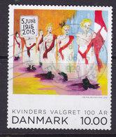 Denmark 2015 Mi. 1836   10.00 Kr Frauen Wahlrecht Women Election Rights - Dänemark