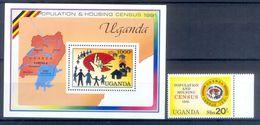 A182- Uganda 1991. Population & Housing CENSUS. - Uganda (1962-...)