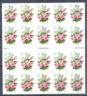 A183- USA United States Self Adhesive Stamps. Garden Bouquet. Flowers. - United States
