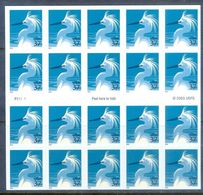 A185- USA United States Self Adhesive Stamps. Snowy Egret. Birds. - United States