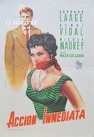 ACTION INMEDIATE - SPANISH MINI HERALD'50 - BARABRA LAAGE - HENRI VIDAL - MAURICE LABRO - Afiches & Pósters