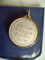 1979  TRANI  1° COPPA DI  PRIMAVERA    REMI REGATA  VELA SPORT MEDAGLIA MEDAL - Rowing