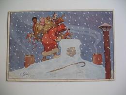 CPA    Scène Représentant  Noël - Andere