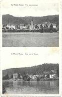 Namur NA85: La Plante. Vue Panoramique. Vue Sur La Meuse ( Carte 2 Vues ) - Namur