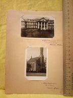Druskininkai Druskieniki 2 Photo Sanatorium Church 1950 - Lituania