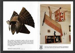 1945-1985 . SOUVENIR  FOLDER . THE  POLISH  INSTITUTE AND  GEN.  SIKORSKI  MUSEUM. - Poland