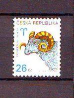 Czech Republic Zodiac - Aries. 1v: 26 Kc Mnh - Neufs