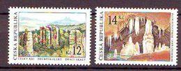 Czech Republic  Beauty Of Country (Rocks, Caves). 2v: 12, 14 Mnh - Tschechische Republik