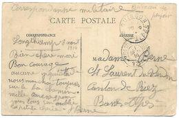 CM 9  Correspondance Militaire Du 11-09-14 Cachet Trésor Et Postes Double Cercle N°134 75ème Division D'Infanterie - Guerre De 1914-18