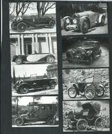 Gard. Uzès Mini Carnet De 9 Cartes.Automobile Peugeot,Bentley,Bugatti,Renault,Dion-Bouton - Uzès