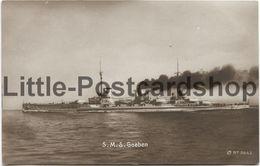 Foto AK S.M.S. Goeben Großer Kreuzer Kaiserliche Marine Moltke-Klasse Ca. 1915 - Guerre 1914-18