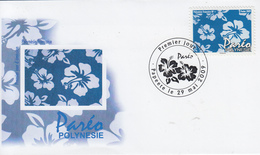 Enveloppe  FDC  1er  Jour   POLYNESIE   Le  Paréo   2009 - FDC