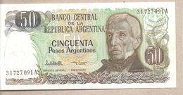 Argentina - Banconota Non Circolata FdS Da 50 Pesos P-314a.2 - 1985 - Argentina