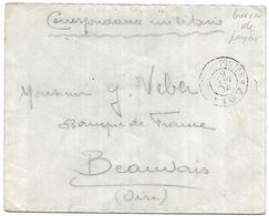 CM 17  Correspondance Militaire Du 29-09-14 Cachet Trésor Et Postes Double Cercle N°167 3ème Division D'Infanterie - Marcofilie (Brieven)