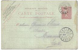 CM 20  Correspondance Militaire Du 18-10-14 Cachet Trésor Et Postes Double Cercle N°190 8ème Division D'Infanterie - Marcophilie (Lettres)